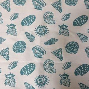 Vintage Kravet Woven Seashell Fabric